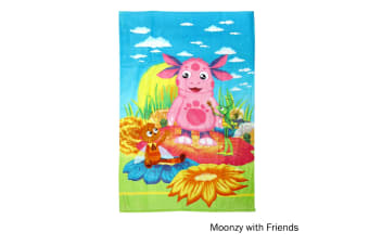 The Adventure of Luntik Beach Towel Moonzy and Friends