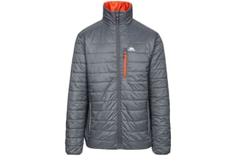 Trespass Mens Norman Padded Jacket (Carbon) (S)
