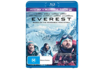 Everest 3D Edition with 2D Edition Blu-ray Region B