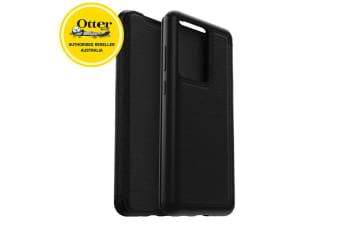 OtterBox Strada Leather Case Cover Protect for Samsung Galaxy S20 Ultra Black