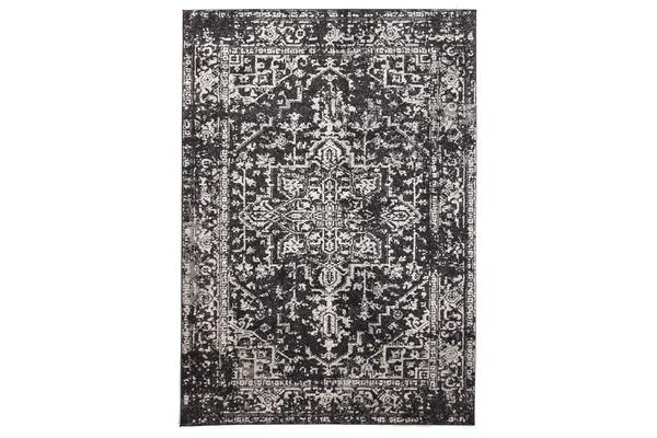 Scape Charcoal Transitional Rug 400x300cm
