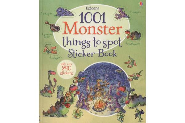 Image of 1001 Monster Things to Spot Sticker Book