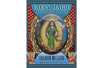 Faery Magic Message Cards - 70 Affirmation Cards with Instructions for Use