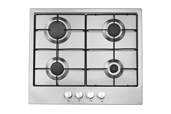 Esatto 60cm Electric Fan Forced Oven with 4 Burner Stainless Steel Gas Cooktop (EOG6)