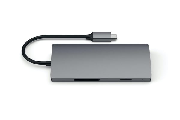 Satechi Type-C Multi-Port Adapter 4K HDMI w/ Ethernet V2 (Space Gray)