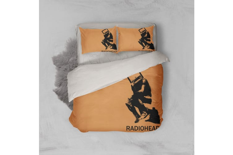 3D Band Radiohead Quilt Cover Set Bedding Set Pillowcases 50-Single