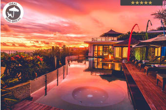 BALI: 3, 5, 7 or 10 Nights at Banyu Alir Villa Nusa Dua For Two