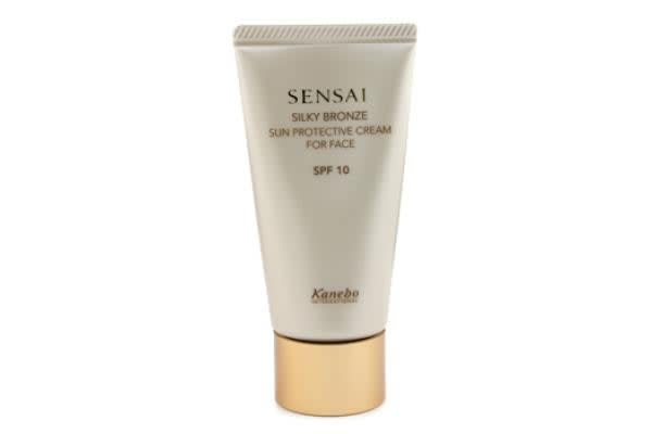 Kanebo Sensai Silky Bronze Sun Protective Cream For Face SPF 10 (50ml/1.7oz)