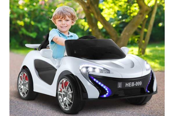 Kids Ride On Car (White)