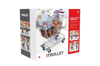 Kids Metal Shopping Trolley - Large