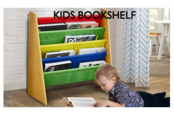 Kids Children Bookcase Book Magazine Shelf Organizer