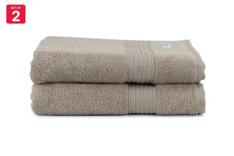 Onkaparinga Ultimate 100% Turkish Cotton Bath Towel Set of 2 (Mocha)
