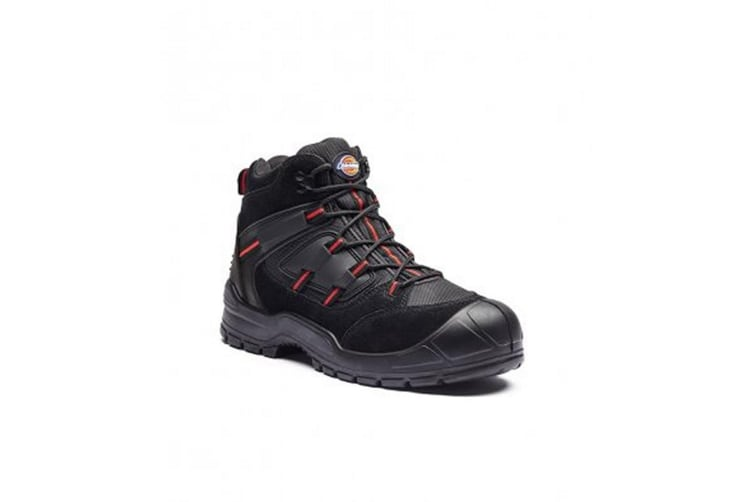 Dickies Mens Everyday Boots (Black/Red) (10 UK)