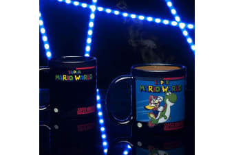 Super Mario World Mario & Yoshi Heat Change Mug |  Super Nintendo