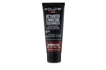 My Magic Mud Activated Charcoal Toothpaste (Fluoride-Free) - Cinnamon Clove 113g/4oz