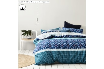 Christobel 100% Cotton Reversible Queen Quilt Cover Set by Gainsborough