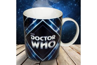 Doctor Who Logo Coffee Mug | Original Timeless Tea Cup
