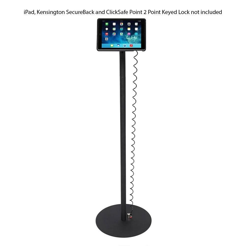 Kensington Security Floor Stand for iPad POS Display/Showroom w/ Pivot/Swivel