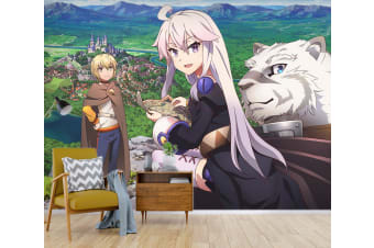 3D Castle In The Sky 006 Anime Wall Murals Woven paper (need glue), XXXXL 520cm x 290cm (WxH)(205''x114'')