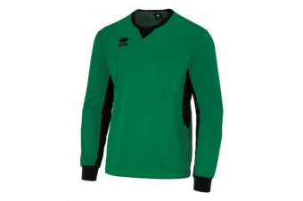 Errea Unisex Childrens/Kids Simon Long Sleeved Goalkeeper Shirt (Green/Black) (XS)