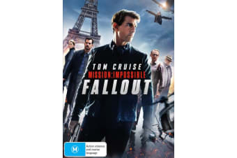 Mission Impossible Fallout DVD Region 4
