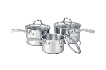 RACO Commercial 3 Piece Stainless Steel Cookware Set
