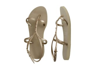 Havaianas Allure Maxi Thongs (Rose Gold, Brazil 45/46)