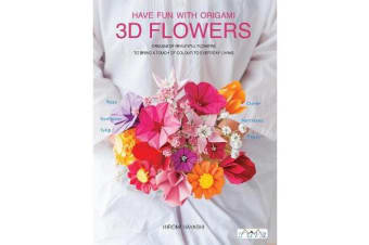 Three Dimensional Paper Flowers - Flower Origami in Three Dimensions