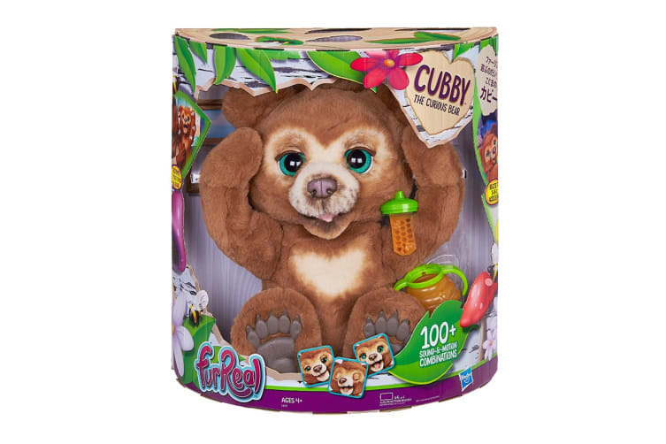Furreal Friends Cubby the Curious Bear