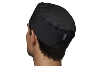 Le Chef Thermocool Skull Cap (Pack of 2) (Jet Black)