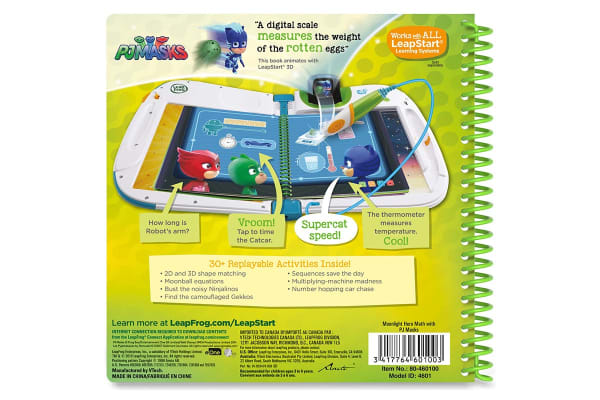 LeapFrog LeapStart Moonlight Hero Math with PJ Masks - 3D Enhanced