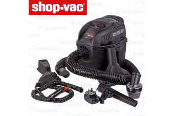 RECHARGABLE VACUUM CLEANER WET & DRY BATTERY CARAVAN RV BOAT SHOP VAC MICRO NEW