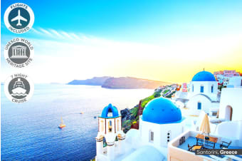 EUROPE: 20 Day European Dream Tour with Mediterranean Cruise Including Flights For Two