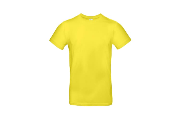 B&C Mens #E190 Tee (Solar Yellow) (L)