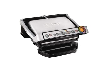 Tefal OptiGrill+ 2000W Electric Sandwich Press Toaster Food Meat Griller GC712