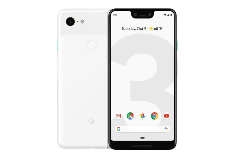 Google Pixel 3 XL (128GB, Clearly White)
