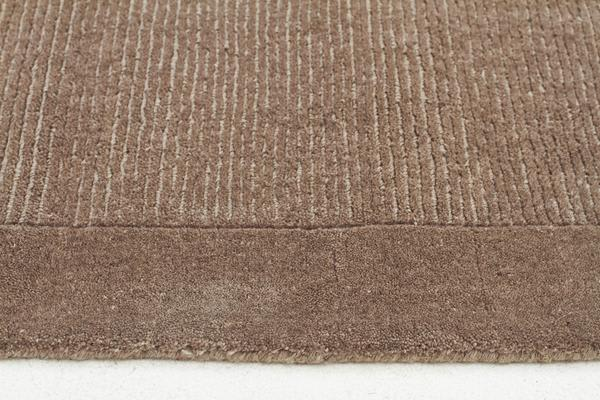 Cut and Loop Pile Rug Latte 280x190cm