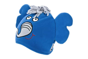 Trespass Childrens/Kids Dumpy Elepant Design Beanie Hat (Royal Blue)