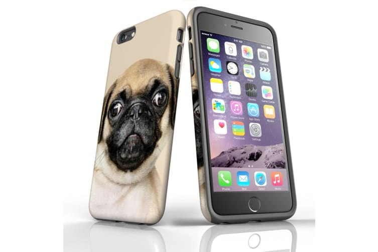 For iPhone 6S Plus & 6 Plus Shielding Back Case  Front Up Pug