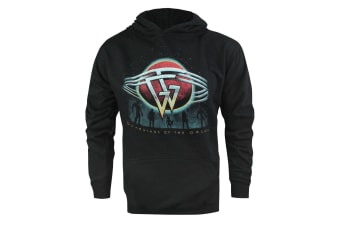 Guardians Of The Galaxy Official Mens Planet Hoodie (Black)