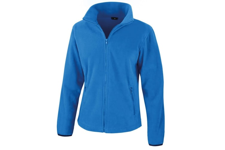 Result Womens/Ladies Core Fashion Fit Fleece Top (Electric Blue) (S)