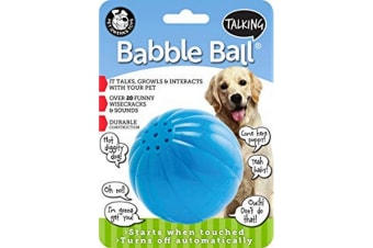 Pet Qwerks Talking Babble Ball - ASRTD (May vary)