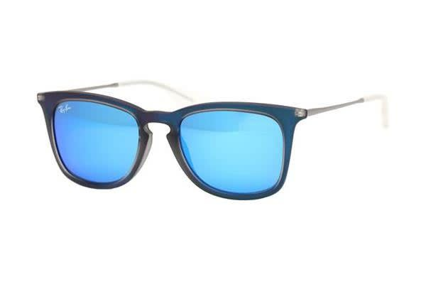 a561bba58e0 Shoes   Fashion     Sunglasses · Ray Ban. Ray-Ban RB4221 50mm - Shot Blue  Rubber Light Green (Mirror Blue lens)