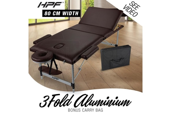 HPF Brown Portable Massage Table