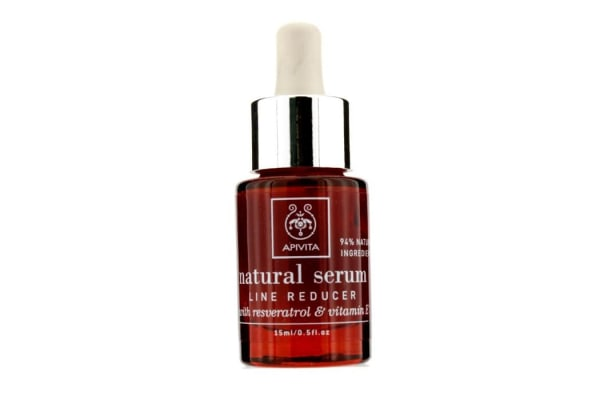 Apivita Natural Serum - Line Reducer with Resveratrol & Vitamin E (15ml/0.5oz)