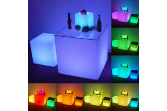 Waterproof Outdoor LED Cube Lights Décor - 40cm