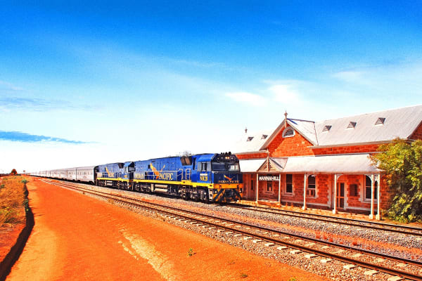 The Indian Pacific – 6 Day Luxury Rail Package Including Flights for Two (Departing Brisbane)