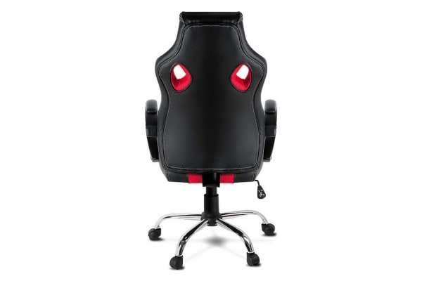 Racing Style PU Leather Office Chair (Red)