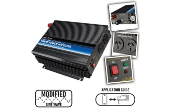 PROJECTA POWER INVERTER IM1000-24 1000W 24 VOLT DC TO 240 AC TRUCK BOAT NEW