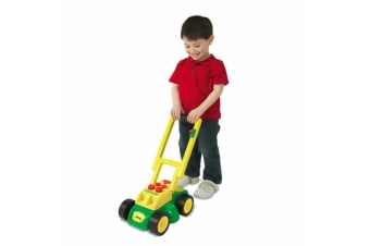 John Deere Grass Push Lawn Mower Outdoor/Indoor/Garden Kids/Children Toy w/Sound